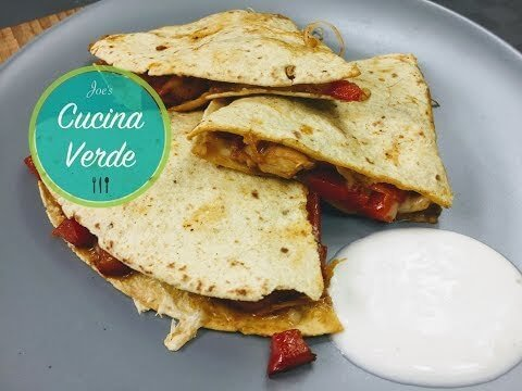 Chicken-Quesadilla Rezept