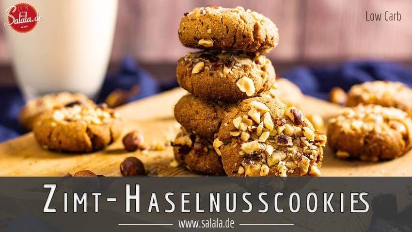 Haselnuss Cookies - Low Carb selber machen