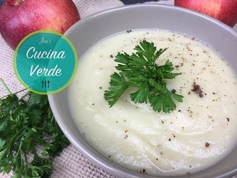 Sellerie-Suppe mit Apfel Rezept