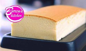 Japanese Cotton Soft Sponge Cake Rezept von Eat Clean - Burcu´s Kitchen